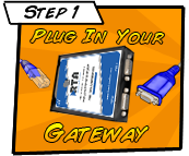 Set up for your Barcode to PLC Gateway is easy